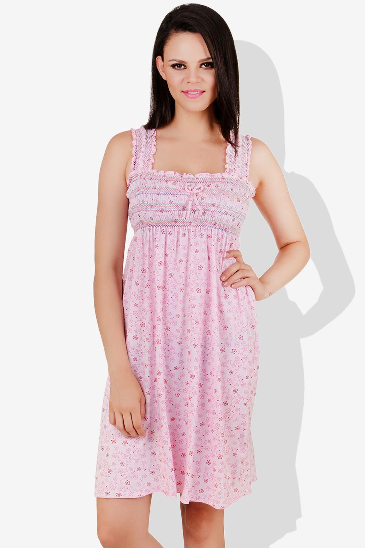 Fasense Baby Pink Cotton Night Wear - Buy Fasense Baby Pink Cotton ... 19491269b