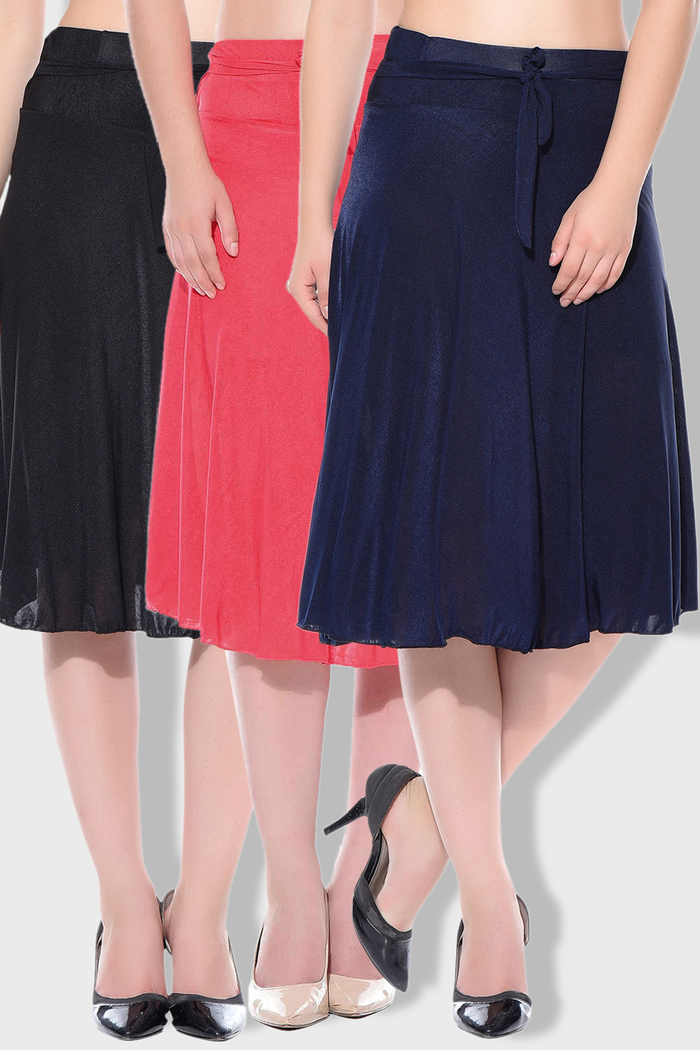 Style Gravity Multi Color Skirt Combo